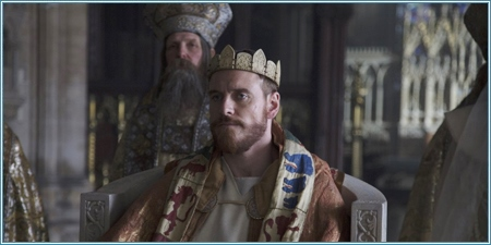 Michael Fassbender es Macbeth