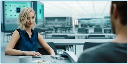 Jennifer Lawrence es Aurora Lane