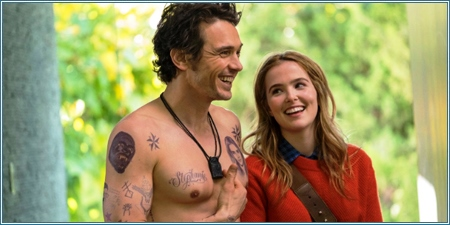 James Franco y Zoey Deutch