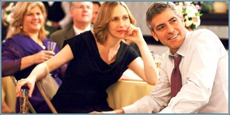 Vera Farmiga y George Clooney