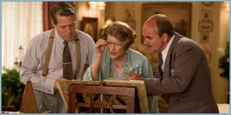 Hugh Grant, Meryl Streep y David Haig