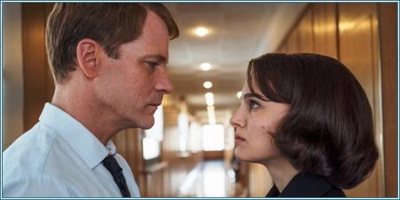 Peter Sarsgaard y Natalie Portman son Bobby Kennedy y Jackie