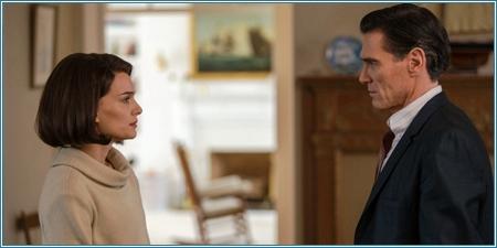 Natalie Portman y Billy Crudup son Jackie y el periodista