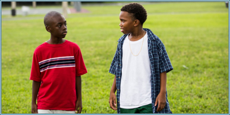 Alex Hibbert y Jaden Piner son Little y Kevin