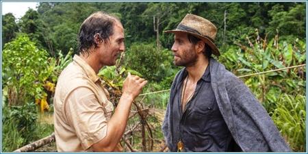 Matthew McConaughey y Édgar Ramírez