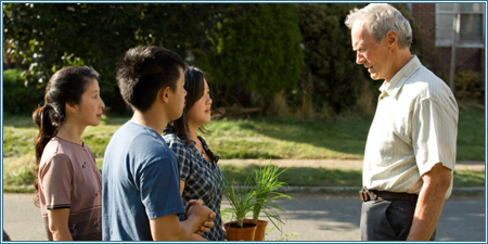 Brooke Chia Thao, Bee Vang, Ahney Her y Clint Eastwood