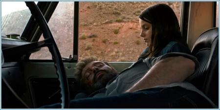 Hugh Jackman y Dafne Keen