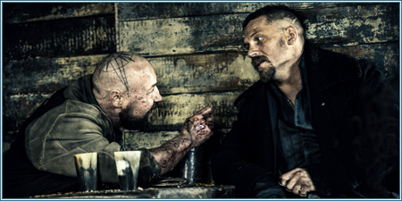 Stephen Graham y Tom Hardy