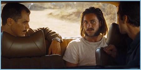 Michael Shannon, Aaron Taylor-Johnson y Jake Gyllenhaal