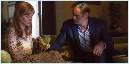 Nicole Kidman y Alexander Skarsgård son Celeste y Perry
