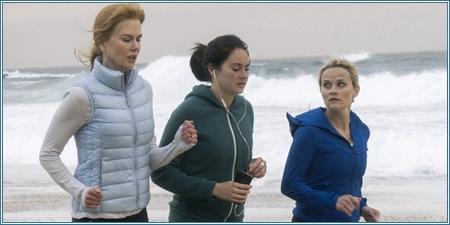 Nicole Kidman, Shailene Woodley y Reese Witherspoon