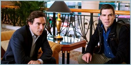 Ben Chaplin y Zachary Quinto