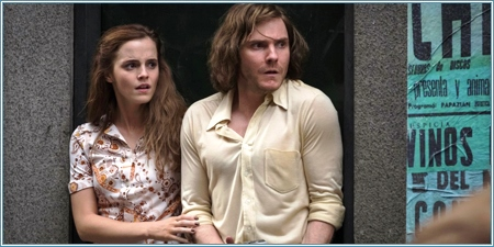 Emma Watson y Daniel Brühl