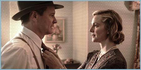 Colin Firth y Laura Linney