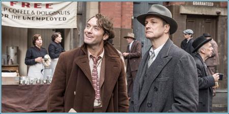 Jude Law y Colin Firth