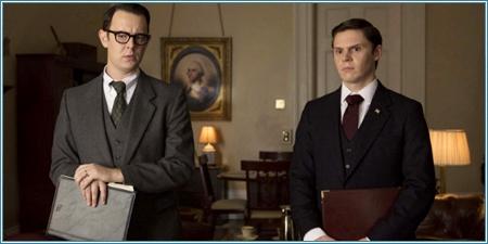 Colin Hanks y Evan Peters son Egil Krogh y Dwight Chapin
