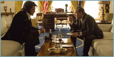 Michael Shannon y Kevin Spacey son Elvis Presley y Richard Nixon