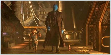 Rocket, Yondu y bebé Groot