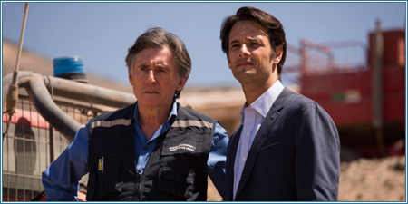 Gabriel Byrne y Rodrigo Santoro