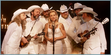 "Veerle Baetens y ""The Broken Circle Breakdown Bluegrass Band"""