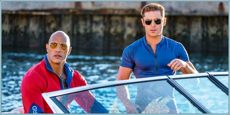 Dwayne Johnson y Zac Efron