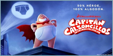 Capitán Calzoncillos: su primer peliculón (Captain Underpants: The first epic movie)