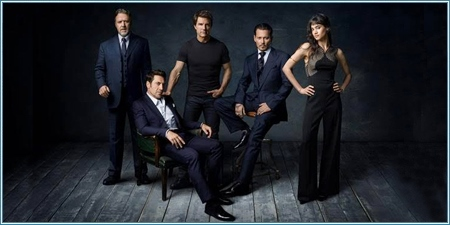 Russell Crowe, Javier Bardem, Tom Cruise, Johnny Depp y Sofia Boutella