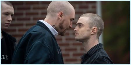 Devin Druid, Seth Numrich y Daniel Radcliffe