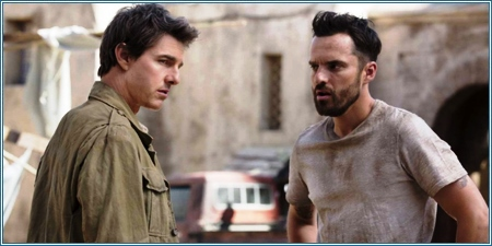 Tom Cruise y Jake Johnson son Nick y Chris