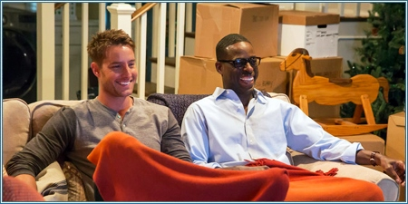 Justin Hartley y Sterling K. Brown