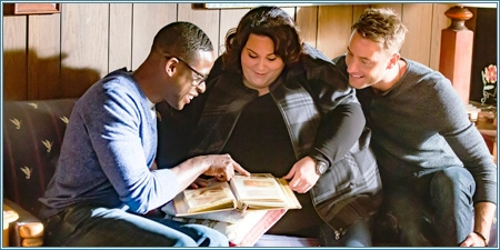 Sterling K. Brown, Chrissy Metz y Justin Hartley