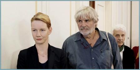 Sandra Hüller y Peter Simonischek