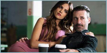 Eiza González y Jon Hamm