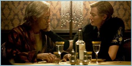 Brad Pitt y Tilda Swinton