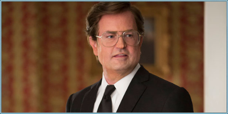 Matthew Perry es Ted Kennedy